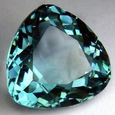 19.50ct.Excellent Huge Green Aquamarine Trillion Loose Gemstone
