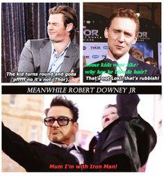 Iron Man rules :D :D