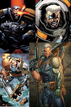 Cable Cable Marvel, Hq Marvel, Marvel Comics Superheroes, Marvel Comic Universe, Comics Universe, Marvel Heroes, Anime Comics, Comic Book Characters, Marvel Characters
