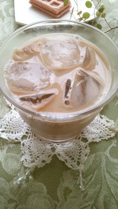 Sweet people ice coffee ice * Honey vanilla latte