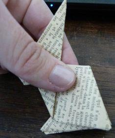 Tuto. Lapin en Origami...Exemple sur ce site  : http://www.alixbigoisjeambrun.com/PAPER-OBJECTS