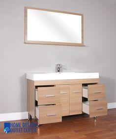 At 8042 L Modern Bathroom Vanity Home Design Outlet Center