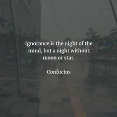 67 Ignorance quotes and sayings that will inspire you. Here are the best ignorance quotes to read from famous authors that will surely inspi. Ignorance Quotes, Ignorance Is Bliss, Short Inspirational Quotes, Great Quotes, Feeling Stupid, How Are You Feeling, Happy People, Good People, Being Ignored Quotes