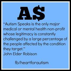 Autism Speaks is messed up