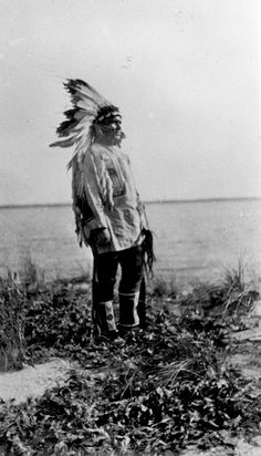 An unidentified man of the Nanticoke , ca. 1920. No additional information.
