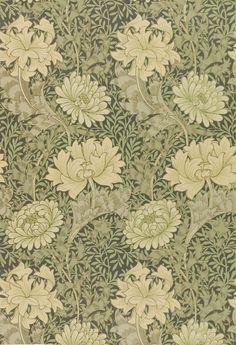 "robert-hadley: "" William Morris "" William Morris vintage wallpaper."