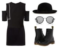 """""""Chic Look #14."""" by mzelleshort ❤ liked on Polyvore featuring Dolce&Gabbana, Yigal AzrouÃ«l, Sunday Somewhere and Dr. Martens"""
