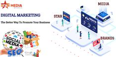 If you're looking for a good team that provides the digital marketing services in Pune then Visit Star Media Brands Best Digital Marketing Company in Pune.   To increase your brand's popularity in a market Star Media Brands provides the best digital marketing services. Best Digital Marketing Company, Digital Marketing Services, Email Marketing, Affiliate Marketing, Advertising Services, Online Advertising, Business Checks, Search Engine Marketing, Promote Your Business