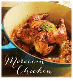 Moroccan Chicken Great Roasts, Moroccan Chicken, Roast Chicken Recipes, Home Chef, Tandoori Chicken, Bird, Meat, Drinks, Cooking