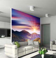 Papier peint vinyle Majestic sunset