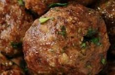 Herb Baked Meatballs by theslowroasteditalian: Loaded with fresh herbs a. Italian Herb Baked Meatballs by theslowroasteditalian: Loaded with fresh herbs a. - -Italian Herb Baked Meatballs by theslowroasteditalian: Loaded with fresh herbs a. Baked Meatball Recipe, Meatball Bake, Meatball Recipes, Beef Dishes, Pasta Dishes, Tandoori Masala, Cooking Recipes, Healthy Recipes, Cooking Tips