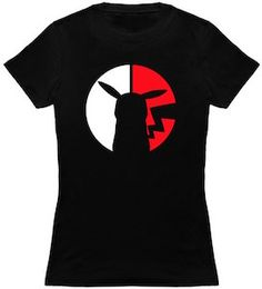 Pokemon Pikachu And Poke Ball Silhouette T-Shirt