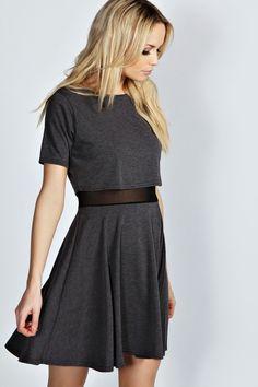Kristen Double Layer Skater Dress