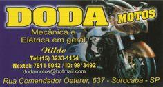 JORNAL AÇÃO POLICIAL SOROCABA E REGIÃO ONLINE: DODA MOTOS Mecânica e Elétrica em Geral Rua. Comen...
