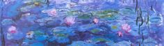 Water Lilies, by Monet