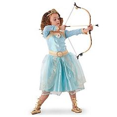 Merida Costume Collection for Girls