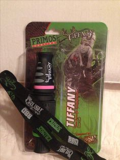 Primos Tiffany Deer Call. I love this call. I met Tiffany and Lee a few years ago at Primos in Brookhaven, MS where I used to work. Lee and Tiffany are two wonderful down to earth people you could ever meet. I wish I could go on a hunt with them one day. That would be the ultimate trip ever.
