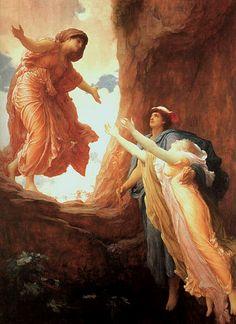 """The Return of Persephone"" - Lord Frederick Leighton"