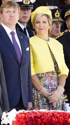 King Willem-Alexander and Queen Maxima at D-Day ceremony | 6 june 2014