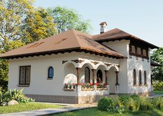 Romania, Gazebo, Houses, Outdoor Structures, Traditional, Decoration, Art, Homes, Decor