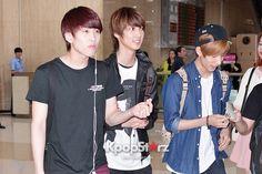 Airport Style: BOYFRIEND Returns To Korea From Haneda, Japan - June 5, 2013