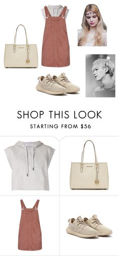 """""""suga"""" by pinocchiohyuk ❤ liked on Polyvore featuring adidas, MICHAEL Michael Kors and Topshop"""