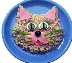 блюда для детей - украшаем