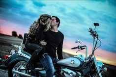 Motorcycle engagement picture