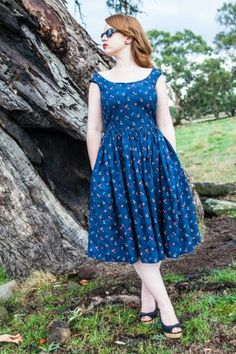 Billie Jean Dress Sewing Pattern by Blue Ginger Doll