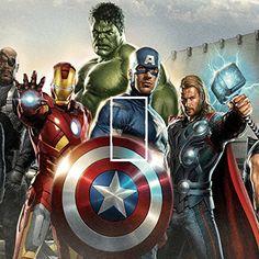 Marvel Avengers Light Switch Sticker Kids/Bedroom