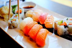 Sushi! I could eat this for every meal!