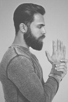 Alp İlkman with Beard