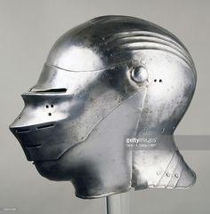 Stock Photo : Horseman's helmet, ca 1515, in Nuremberg Germany Ca 1515, 16th century