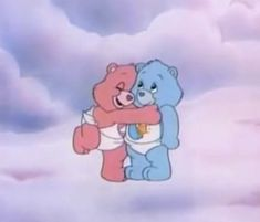 Welcome to Care-A-Lot, that little place in the clouds where the Care Bear family resides. Here you can find gifs, artwork both old and new, the music of Care-A-Lot, and random trivia about the Care Bears and Care Bear Cousins. Cartoon Icons, Cartoon Memes, Cartoon Wallpaper, Aesthetic Iphone Wallpaper, Aesthetic Wallpapers, Cartoon Network, Vintage Cartoons, Old Cartoons 90s, Cartoon Profile Pictures