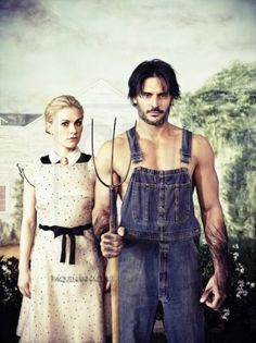 Silly Sookie!  Ditch the vampires and  fall for Alcide!!!!!