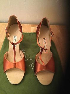 """#Stunning ray rose latin t #strap salsa #shoes size uk 6.5 3"""" heel,  View more on the LINK: http://www.zeppy.io/product/gb/2/291966498682/"""