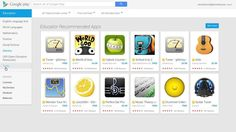 Google Play for Education: Easy Discovery and Search. Search via grade and common core strand.  Search via free/paid.  I love Google!