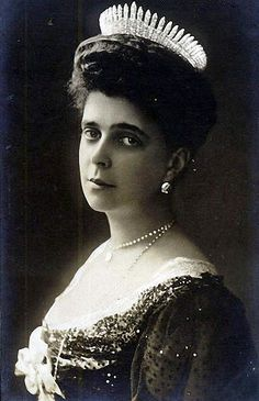 Grand Duchess Elena Vladimirovna of Russia 17 January 1882 – 13 March 1957, sometimes known as Helen, Helena, Helene, Ellen, Yelena, Hélène, or Eleni, was a Russian grand duchess as the only daughter and youngest child of Grand Duke Vladimir Alexandrovich of Russia and Duchess Marie of Mecklenburg-Schwerin. She was the wife of Prince Nicholas of Greece and Denmark and paternal first cousin of Tsar Nicholas II of Russia.