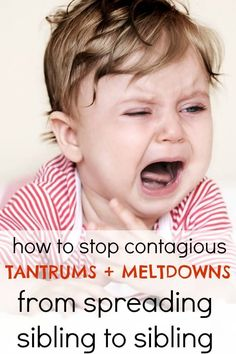 how to stop all your kids from melting down at the same time. great read for moms of toddlers