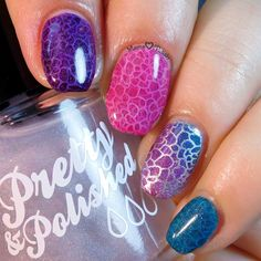 OPI Color Paints - Pond Mani How To schlicht schlicht, Winter Nail Art, Winter Nails, Summer Nails, Cute Nails, Pretty Nails, Nagel Bling, Opi Colors, Girls Nails, Stamping Nail Art