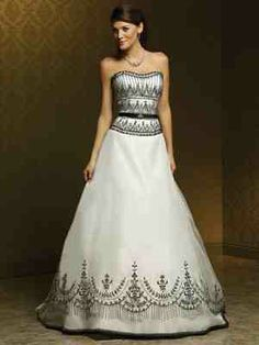 Black wedding dress dream