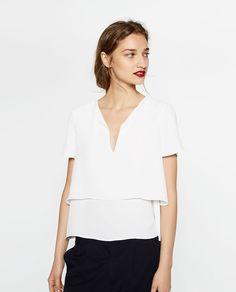 What to Buy at Zara If You're Over Age 50 via Moda Zara, Ny Style, Travel Clothes Women, Velvet Fashion, Layered Tops, Zara Women, Work Attire, New Wardrobe, Dress Up