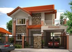 fachadas de casas sencillas rusticas