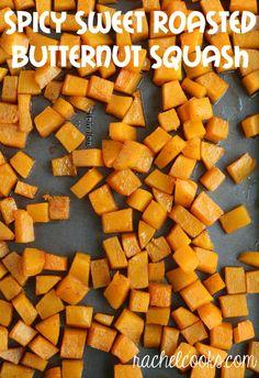 GREAT Butternut Squash Recipe by RachelCooks.com!