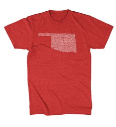 Oklahoma Towns T-shirt - (3 Color Options)