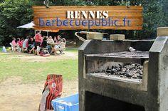 Barbecue public à Rennes (35)