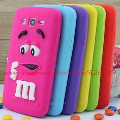 Pour Samsung Galaxy Grand Neo i9060 cas mignon M & M chocolat conception Silicone Mobile téléphone sacs cas , la couverture dans Sacs et Etuis pour Téléphone de Téléphones et télécommunications sur AliExpress.com | Alibaba Group