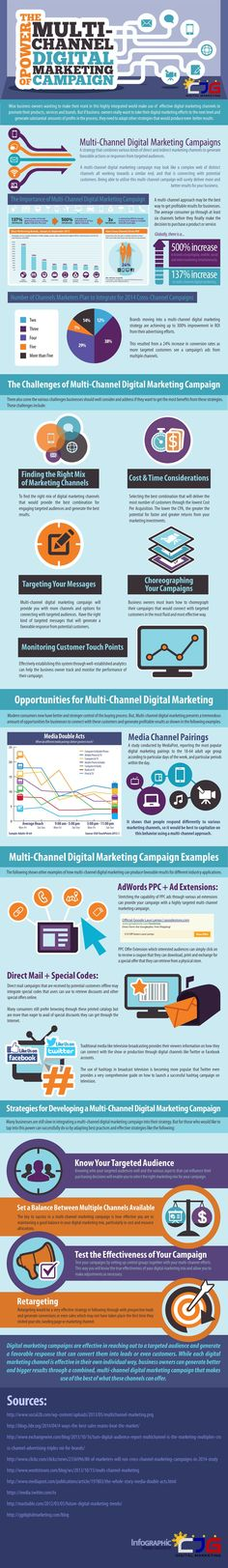 The Power of Multi-Channel Digital Marketing Campaign (Infographic)