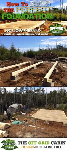 Bunkhouse Plans 242842604894876431 - Hidden Secrets For Building the Perfect Off Grid Cabin Foundation Pin Source by Building A Small Cabin, How To Build A Log Cabin, Building A Shed, Building Ideas, Off Grid House, Off Grid Cabin, Off The Grid Homes, A Frame Cabin, A Frame House