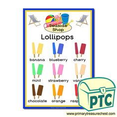 Seaside Shop Role Play Resources - Primary Treasure Chest Teaching Activities, Teaching Ideas, Seaside Shops, Early Years Classroom, Ourselves Topic, Seaside Holidays, Sound Art, Chocolate Orange, Letter Sounds